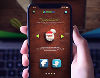 Cosmote Christmas Cake website