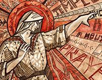 Jesus Christ SuperStar illustration