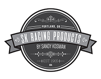 SK Racing Products Logo and Identity
