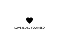 Love is all you need - personal icon set