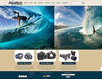 Website Redesign - Aquatech.net (Illustrator)