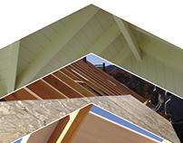 Folleto de paneles para construcción