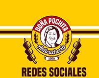 Anticucheria Doña Pochita - Social Media