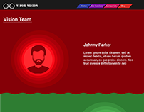 Vision Team Page (Black and White Menu Backgrounds)