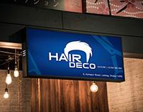 Creative Logo Design for Salon (Hair Deco)