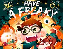 littlefatty- Mobile phone Halloween wallpaper