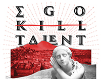 Ego Kill Talent - SESC Pompeia (Gig Poster)