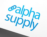 Logotipo Alpha Supply Blog