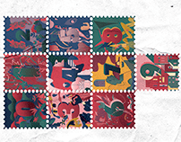 36 days of type 06 Stamps