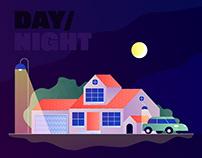 Day / Night (GIF)