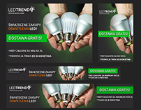 Remarketing Web Banners for: www.ledtrends.pl
