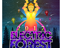 Electric Forest Sticker Contest Entry