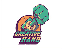 Logo Reveal Creative Hand