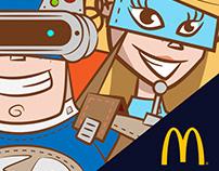McDonald's characters..