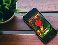 Mobile Game Apps Design - Apple Escape