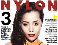 Cover and Story, Nylon magazine. Michelle Phan