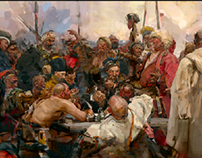 "Master study: "" Reply of the Zaporozhian Cossacks"