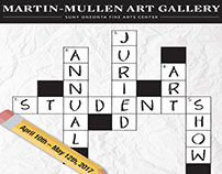Juried Art Show poster