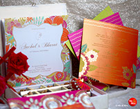 Wedding Invite Design for Anchal & Bharat