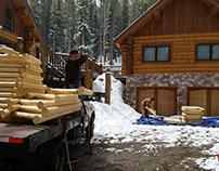 Log Railing Repair Breckenridge