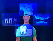 Dental Diagnostic - 2D Explainer video