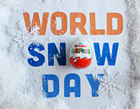 KINDER SORPRESA | World Snow Day | stop-motion