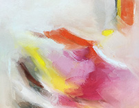Abstract Landscape Oil Paintings   Where I'm Headed