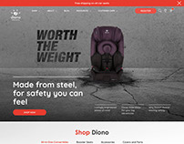 Diono Carseats E-Commerce Website