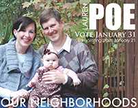 Poe Campaign Flyer