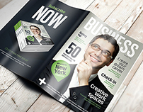 A4 Brochure Magazine Mockup 9