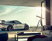 Porsche 911GT3 - Full CGI