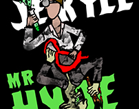 Dr. Jekyll and Mr. Hyde Book Jacket Design