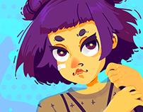 Dangerous Poster Girl