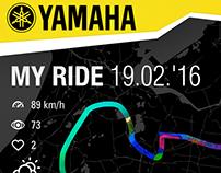 Yamaha motor redesign