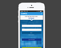 Smoozle dating app - UI/UX