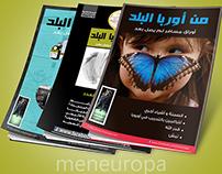 mneuropa Magazine Covers Design