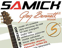 Samick Guitars by Greg Bennett