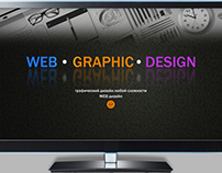 Website for provision of graphic and web design service