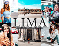 Free Lima Mobile & Desktop Lightroom Presets