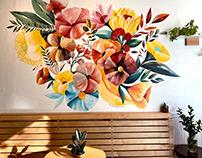 Florar mural
