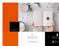 Alejandra Toscano Branding