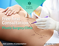 Free Plastic Surgery Clinic Powerpoint Template