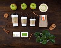 Cafe branding design