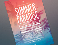 Summer Paradise Flyer