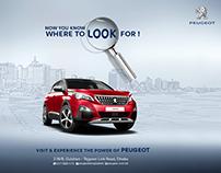 Peugeot car Creative Ads