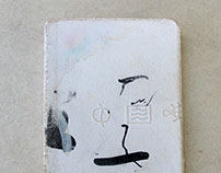 White Mini Sketchbook