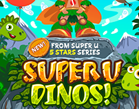 Game art: Super U Dinos (iOS)