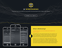 App Wireframing Web Page | Algoworks