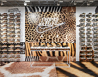 "NIKE AIR MAX ""Animal Pack"" Store Decoration"