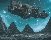 Space and Ship